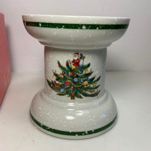 "Mikasa Christmas Treats Pillar 4"" Candle Holder"